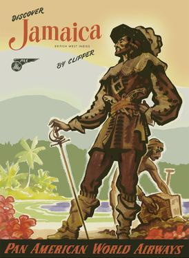 Discover Jamaica by Clipper - Pan American World Airways by John Pike