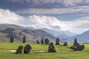 Castlerigg Stone Circle, near Keswick, Lake District National Park, Cumbria, England, United Kingdo by John Potter