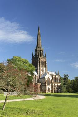 Church of St. Mary The Virgin at Clumber Park, Nottinghamshire, England, United Kingdom, Europe by John Potter
