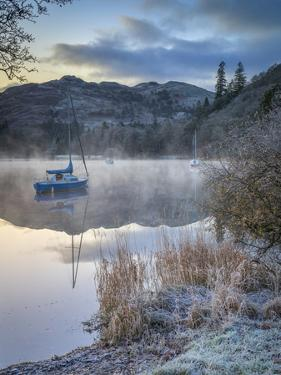 Dawn light over Glenridding on Ullswater, Lake District National Park, Cumbria, England by John Potter