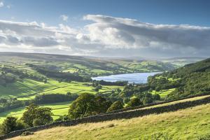 Gouthwaite Reservoir in Upper Nidderdale, The Yorkshire Dales National Park, England by John Potter