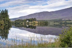 Loch Alvie, Strathspey and Badenoch, Cairngorms, Highland, Scotland, United Kingdom, Europe by John Potter
