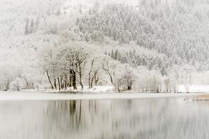 Loch Ard, Aberfoyle, the Trossachs in Mid-Winter by John Potter