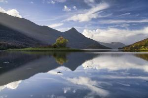 Reflections, Loch Leven, Highland Region, Scotland, United Kingdom, Europe by John Potter