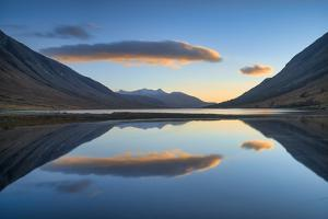 Sunset over Loch Etive, Argyll and Bute, Scotland, United Kingdom, Europe by John Potter