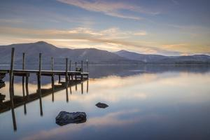 Watendlath Jetty, Derwent Water, Borrowdale, Lake District National Park, Cumbria, England, United by John Potter