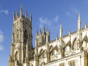 York Minster Bell Towers, York, North Yorkshire, Yorkshire, England, United Kingdom, Europe by John Potter
