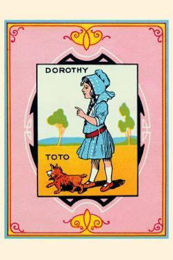 Dorothy and Toto by John R. Neill