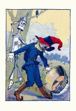 The Tin Man and Scarecrow by John R. Neill