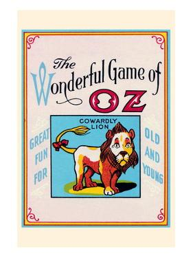 Thewonderful Game of Oz - Cowardly Lion by John R. Neill