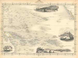 Polynesia, or Islands in the Pacific Ocean, C. 1850 by John Rapkin