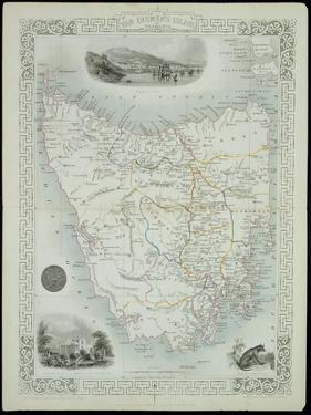 Van Diemen's Island or Tasmania by John Rapkin