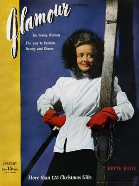 Glamour Cover - January 1941 by John Rawlings