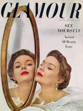 Glamour Cover - July 1949 by John Rawlings