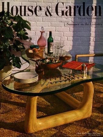 House & Garden Cover - July 1945 by John Rawlings
