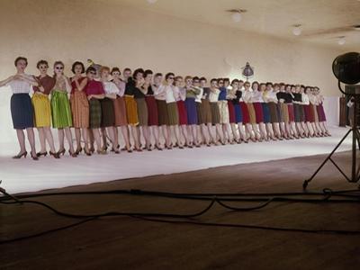 Vogue - August 1959 - Chorus Line by John Rawlings