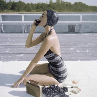 Vogue - January 1953 by John Rawlings