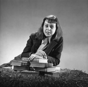 Vogue - September 1940 - Carson McCullers by John Rawlings