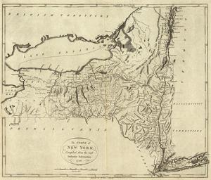 State of New York, c.1796 by John Reid
