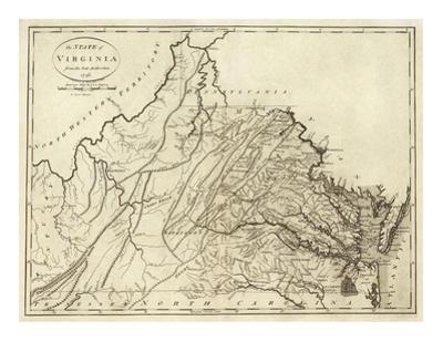 State of Virginia, c.1796 by John Reid