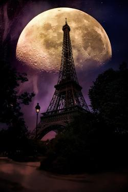Moonlight in Paris by John Rivera