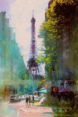 Paris Street by John Rivera