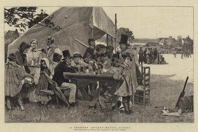 A Country Cricket-Match, Sussex