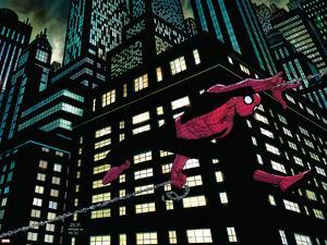 Amazing Spider-Man No.600 Cover: Spider-Man by John Romita Jr.