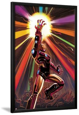 Avengers No.12 Cover: Iron Man by John Romita Jr.