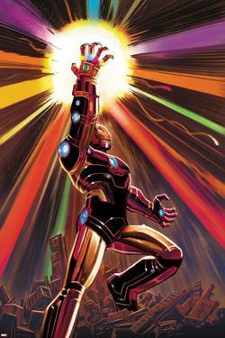 Avengers No.12 Cover: Iron Man by John Romita Jr.