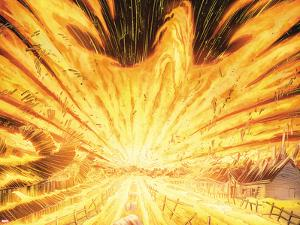 Avengers Vs. X-Men No.1: Flaming Phoenix Force by John Romita Jr.