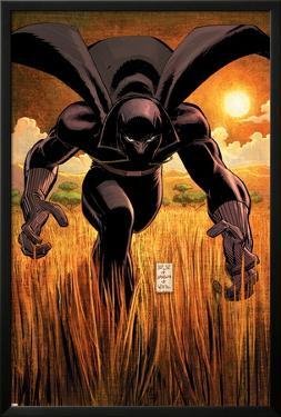 Black Panther No.1 Cover: Black Panther by John Romita Jr.