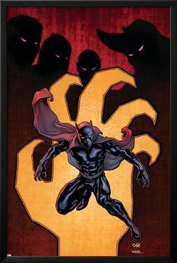 Black Panther No.3 Cover: Black Panther by John Romita Jr.