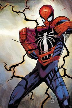 The Amazing Spider-Man No.568 Cover: Spider-Man by John Romita Jr.