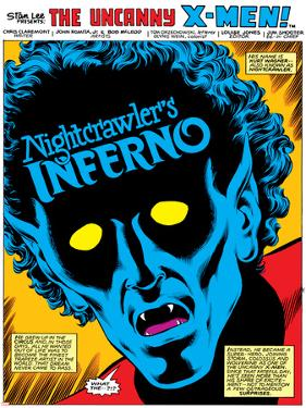 Uncanny X-Men Annual No.4 Headshot: Nightcrawler by John Romita Jr.