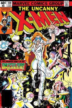 Uncanny X-Men No.130 Cover: Dazzler, Cyclops, Grey and Jean by John Romita Jr.