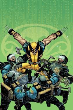 Wolverine No.23 Cover: Wolverine by John Romita Jr.