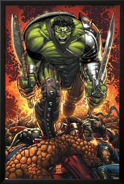 World War Hulk Prologue: World Breaker Cover: Hulk by John Romita Jr.