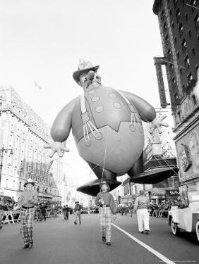 Thanksgiving Day Parade, New York, New York, c.1948 by John Rooney