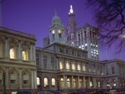 City Hall, New York City, New York, USA