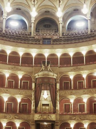 Interior, Opera, Rome, Lazio, Italy