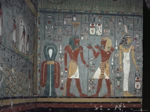 Interior, Tomb of Ramses I, Valley of the Kings, Thebes, Unesco World Heritage Site, Egypt by John Ross