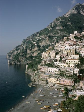 Positano, Costiera Amalfitana (Amalfi Coast), Unesco World Heritage Site, Campania, Italy