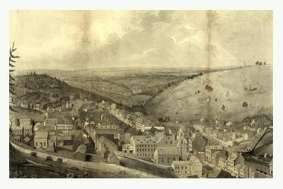 View of Pottsville Taken from Sharp Mountain and Respectfully Dedicated to the Enterprising Citizen