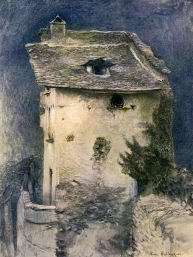 A Dilapidated Cottage, 19th Century by John Ruskin
