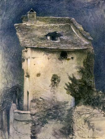 A Dilapidated Cottage, 19th Century