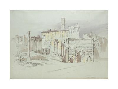 A Window of the Palazzo Tolomei