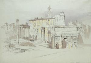A Window of the Palazzo Tolomei by John Ruskin