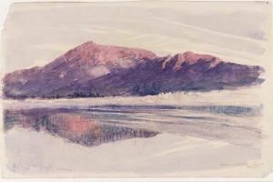 Dawn Coniston, 1873 by John Ruskin