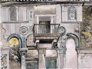 Fondaco Dei Turchi, Venice by John Ruskin